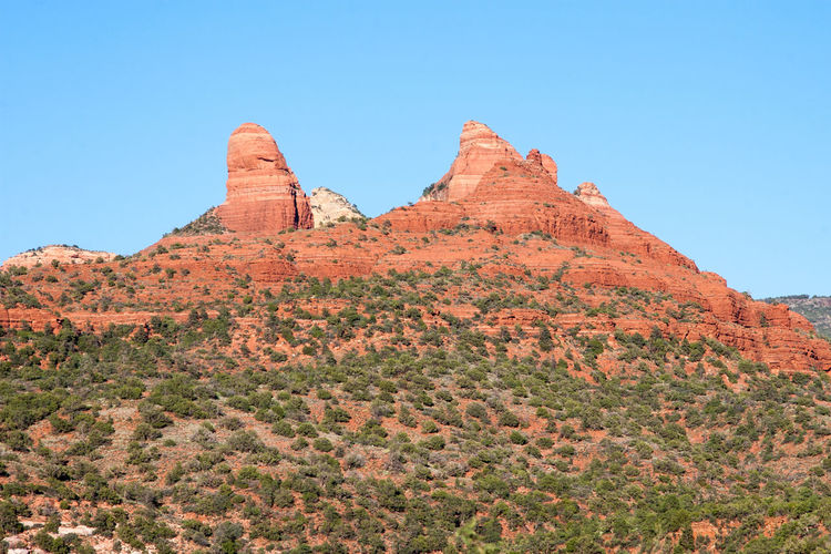 Sedona, Arizona Tourism Arizona Beauty In Nature Blue Sky Clear Sky Geography Geology Holiday National Park Nature No People Outdoors Parks Red Rocks  Rock Formation Sedona Tourism Travel Travel Destinations USA
