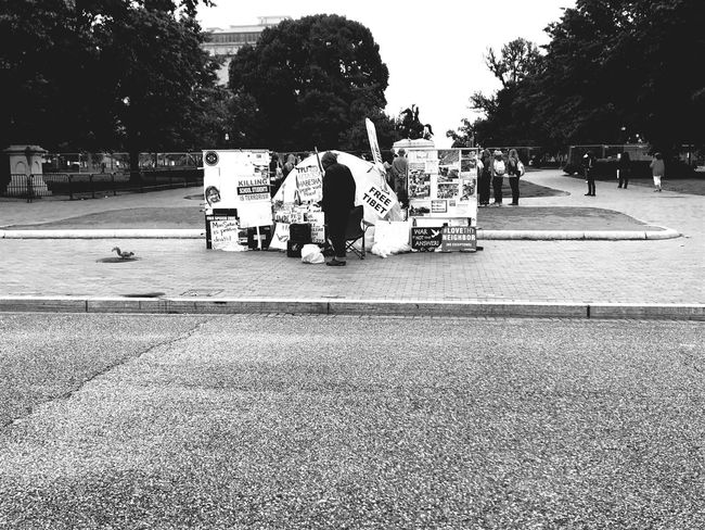 Protest White House Washington, D. C.