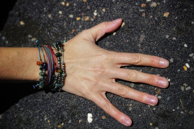 Get up Canon Canonphotography Costa Rica Hand Girl Sand Black Background Travel EyeEm Selects Travel Photography Human Hand Arts Culture And Entertainment Multi Colored Close-up Bracelet