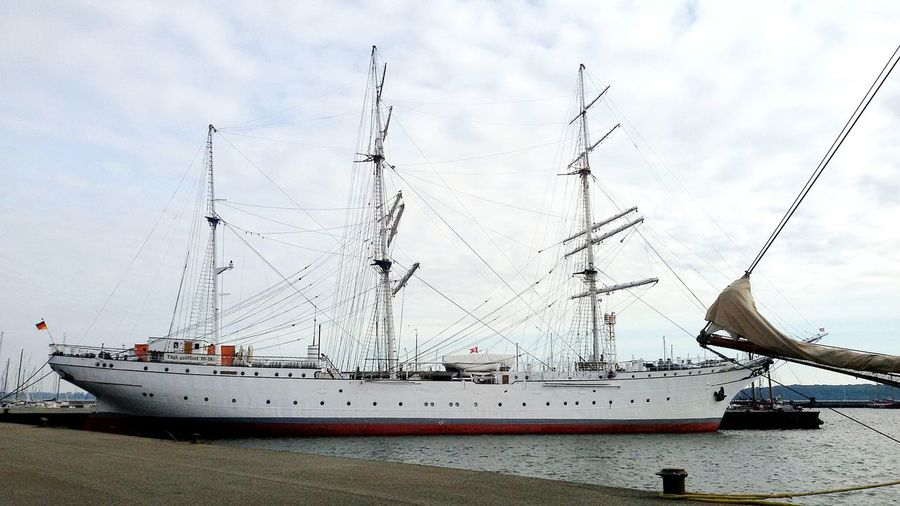 Gorch Fock Stralsund  Docked Boats Hafenfotografie Interesting Places Visiting Outdoor Check This Out