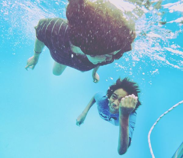 Fly swim wuteva