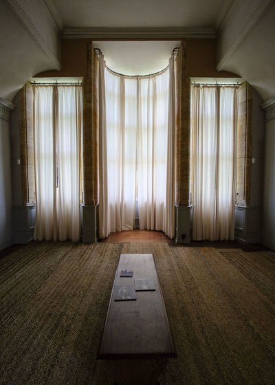 Indoors  Living Room Curtain Architecture No People Home Interior Domestic Room Day National Trust The Week On EyeEm Light And Shadow Wide Angle Heritage Diffused Light