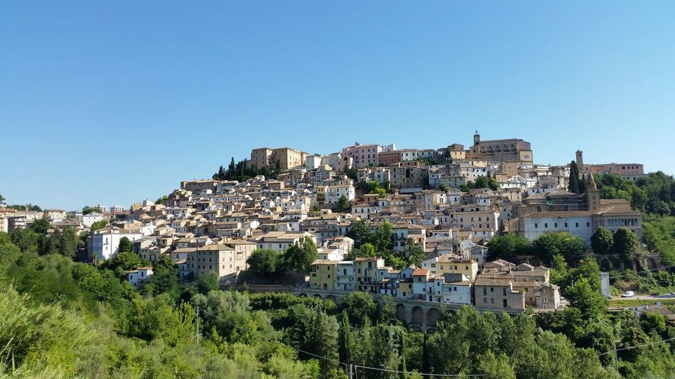 Abruzzo - Italy Castle City City Life Cityscape Medieval Architecture Town TOWNSCAPE Travel Destinations Showcase July