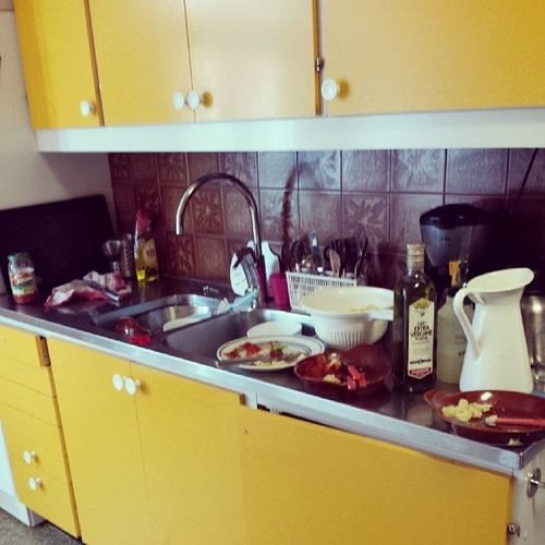 Tänkte mig en lite mindre diskbänk när köket görs om. Familylivingfint Realfamilyliving