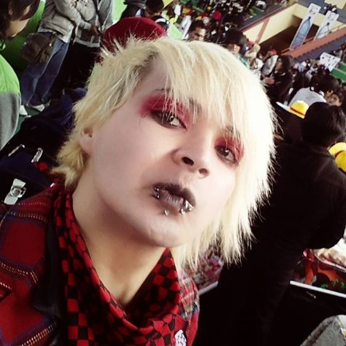 In the fest ANIME DRAGON.. V_cRows Visualkei Vkstyle Dragonfest crowshiro