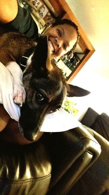 Chillin with this big baby :-) Pili Boy Big Baby Puppy Dog Eyes