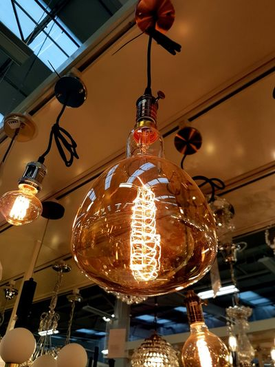 A lightbulb.