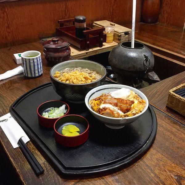 カツ丼 蕎麦 日本 Katsudon Soba Japanesefood Food Japan