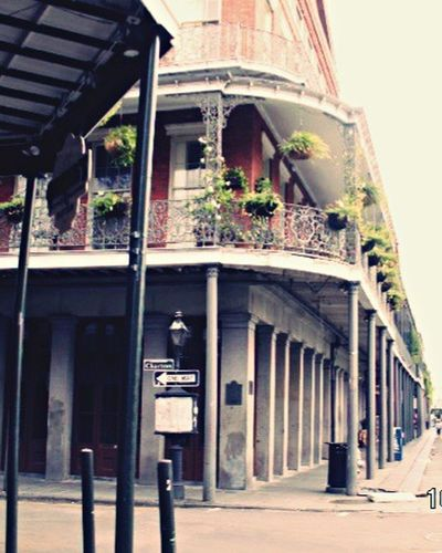 New Orleans Building Exterior Day Architecture New Orleans, LA Mardi Gras Lousiana Burbon Street Architecture Built Structure Outdoors City Exterior No People The Street Photographer - 2017 EyeEm Awards