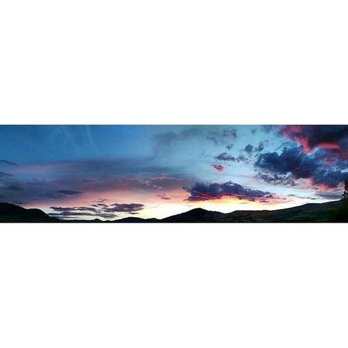 Panorama of tonight's sunset from Kin Beach in Vernon, BC. Sky_sultans Panorama Sunset Coloroflife natgeovisual OurPlanetDaily globaldaily kelownanow splendid_colorsplash ig_exquisite tourismvernon tourismbc splendid_earth roamtheplanet enjoycanada exploreokanagan cloudporn imagesofcanada mlpbycaley supernaturalbc