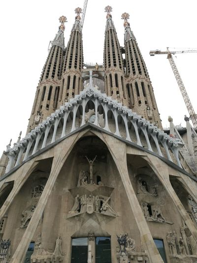 Barcelona, Spain Catedral De Barcelona Sagrada Familia Gaudì Architecture Work #NotYourCliche Love Letter City History Politics And Government Sky Architecture Building Exterior Built Structure Travel Catholicism Cathedral Rose Window Christianity Church Bas Relief Temple