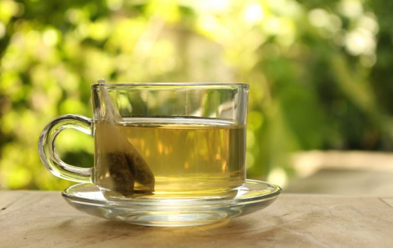 Tea Food And Drink Drink Refreshment Tea Tea - Hot Drink Hot Drink Cup Table Glass - Material Focus On Foreground Mug Close-up Tea Cup Transparent Freshness Household Equipment Day Sunlight Drinking Glass