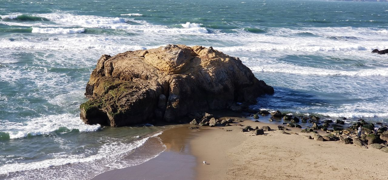 Land's End/Pacific Ocean Sunny Rocks Shadows Pacific Ocean Purist No Edit No Filter Sea Outdoors Beauty In Nature