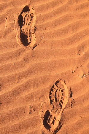 These boots were made for walking... Arid Climate Australian Outback Blundstones Close-up Day Desert FootPrint Footsteps Footsteps In The Sand Footsteps... Nature No People Outdoors Red Dirt Rippled Ripples In The Sand Sand Sand Dune Shoe Imprint Simpson Desert Sunlight These Boots Are Made For Walking Track - Imprint Vacations Wavy