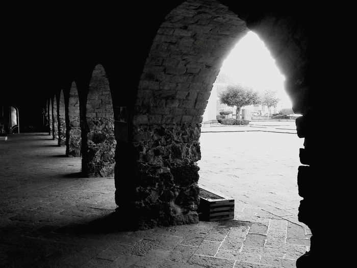 Arcos Arcos Pasillo Pasillo Oscuro