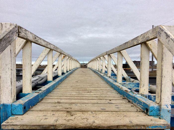 Surface Level Of Boardwalk