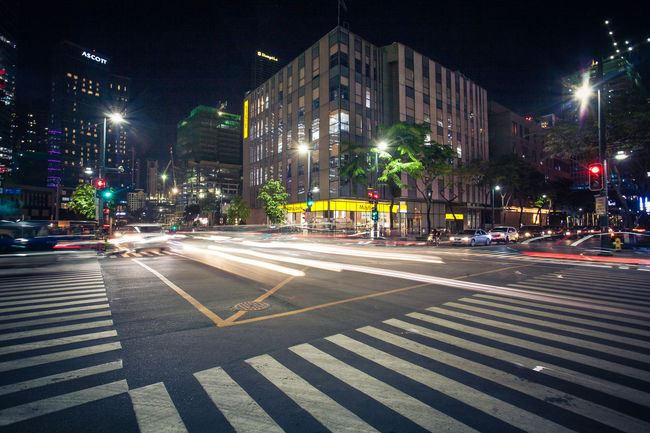 City City Life City Street Downtown District Illuminated Night Street Urban Exploration