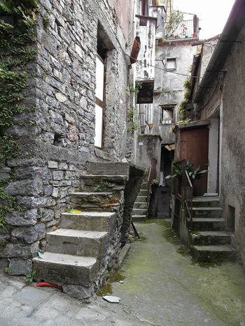 Glimpse of the historic center with stairs Historic Center Italia Old Town South Italy Abandoned Architecture Building Exterior Built Structure Calabria Glimpse No People Outdoors Staircase Steps Travel Destination Verbicaro