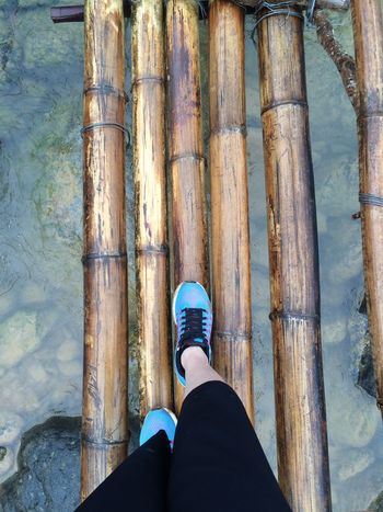 First Eyeem Photo Bình Liêu Water Travel Trip Vietnam Bamboo Bridge Experience Good Mood Love The Nature