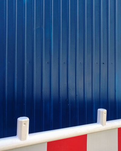 Bluebackground Blue No People Pattern Minimalism Minimalist Photography  Close-up Architecture Metal Full Frame Wall - Building Feature Safety Protection Outdoors Building Exterior Corrugated Iron Backgrounds