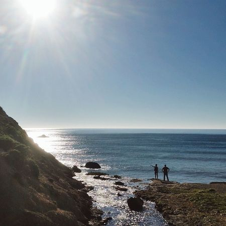 """""""Man cannot discover new oceans unless he has the courage to lose sight of the shore."""" -- André Gide Pointreyesnationalseashore Pointreyes Bolinas Alamerefalls palomarin california hiking visitmarin visitca"""