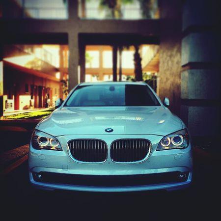 My Car♥ BMW!!! White
