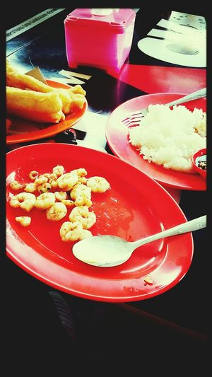 Breakfast with my lovely..?
