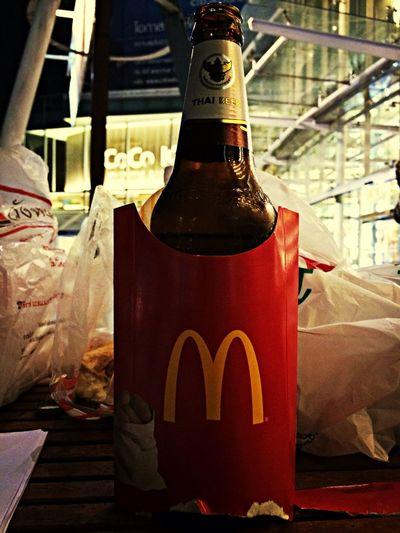 New packag McDonald's Thaibeer