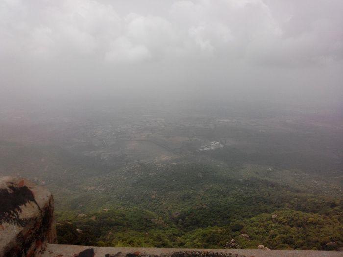 Aerial Shot Honeymoon Point Rajasthan India