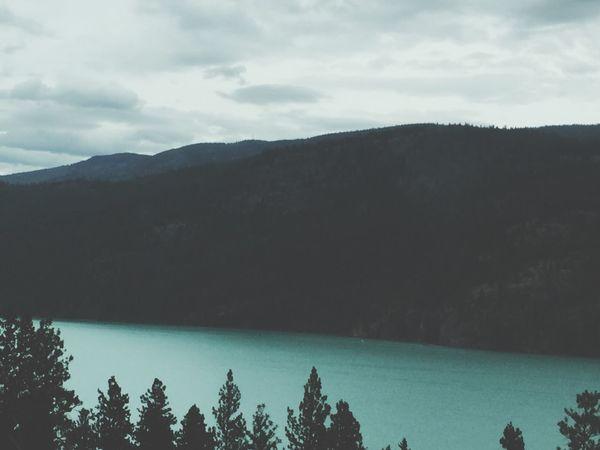 Kalamalka Lake Turqouise Water Vernon Okanagan Canada