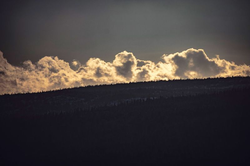 Nature Sky Landscape No People Scenics Tranquil Scene Tranquility Outdoors Silhouette Beauty In Nature Day Clouds