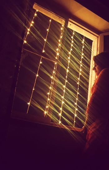 lights Liight Up Your Life Hopes And Dreams Strings Of Lights Girl On Windows Electric Bulb