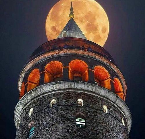 Galatakulesi Night Galata Tower