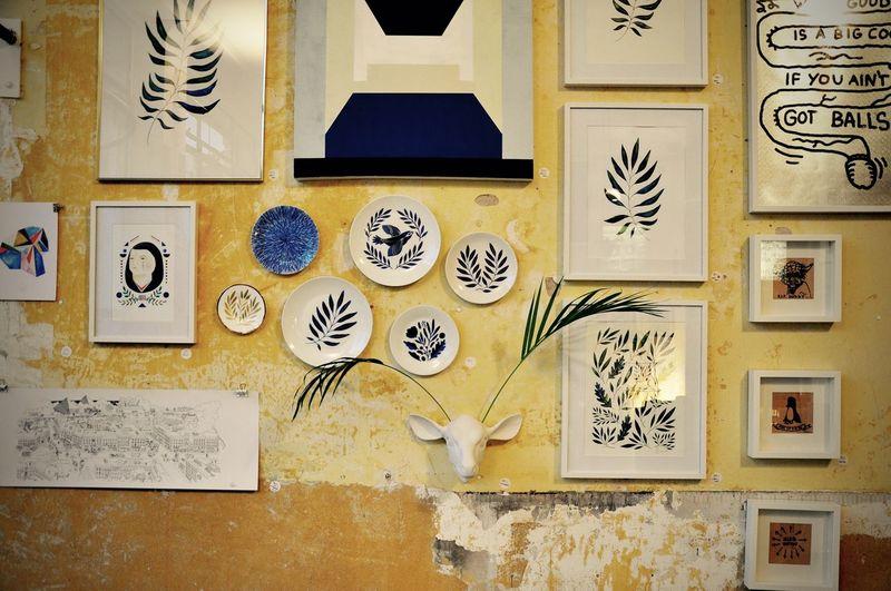 Berlin Concept Store Creative Deers Design Interior Design Plants Yellow