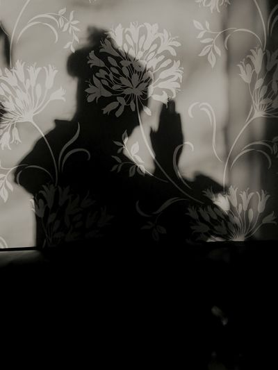 Shadows & Lights Shadow Shadow Play Shadows And Silhouettes Silhouette Close-up Woman Portrait Loneliness Peaceful Moments Woman Who Inspire You Serinity Illuminated Wall