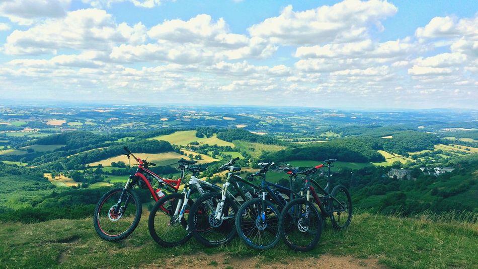 Biking Malvern Hill IPhoneography Malvern Hills Mountainbike Countryside