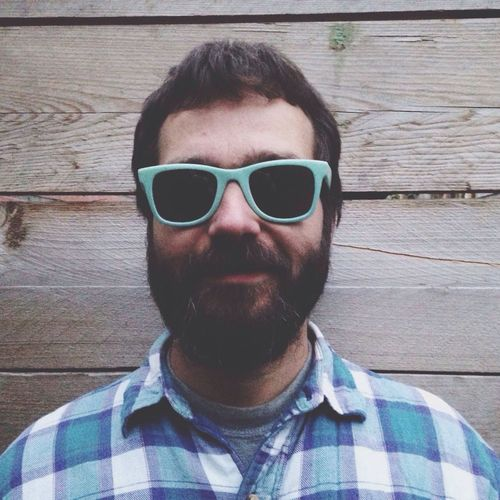 Dude People Portrait Sunglasses Hipster