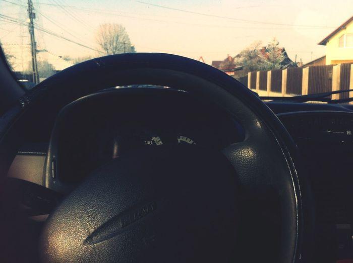Driving practice.