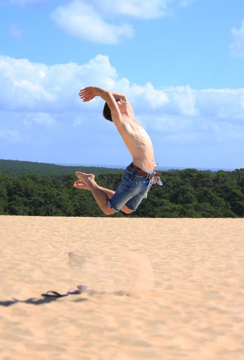Dune Du Pyla Fun Live For The Story Men One Person