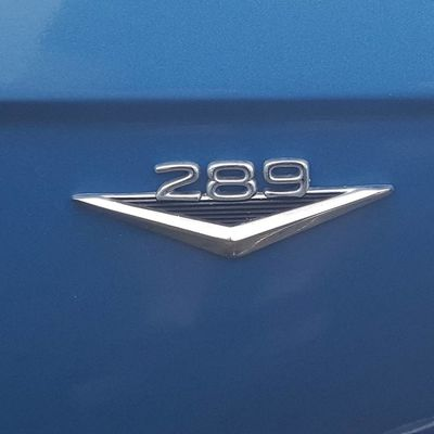 289 Communication Text Close-up Ford Ford Mustang Ford Tough Pony Power American Muscle Muscle Car 289 Horsepower