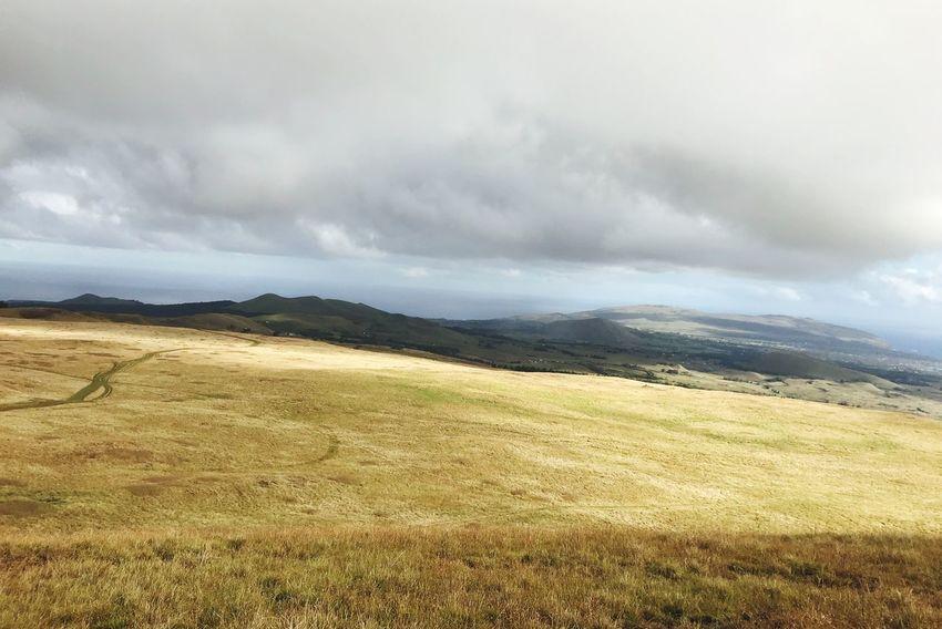 Isla de Páscoa #rapanui Cloud - Sky Sky Tranquility Environment Landscape Scenics - Nature Beauty In Nature Land Nature