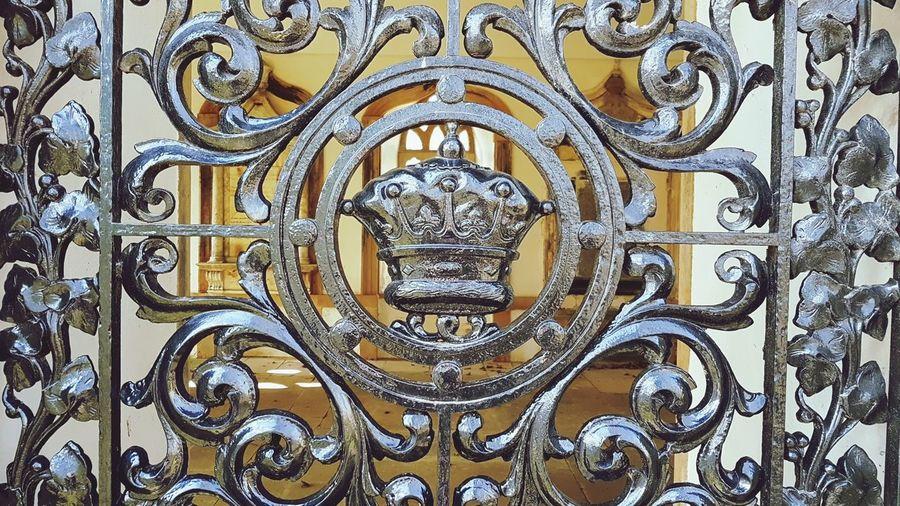 Mauseleum Ducal Coronet Duff House Banff  Aberdeenshire Scotland Full Frame History Close-up Architecture