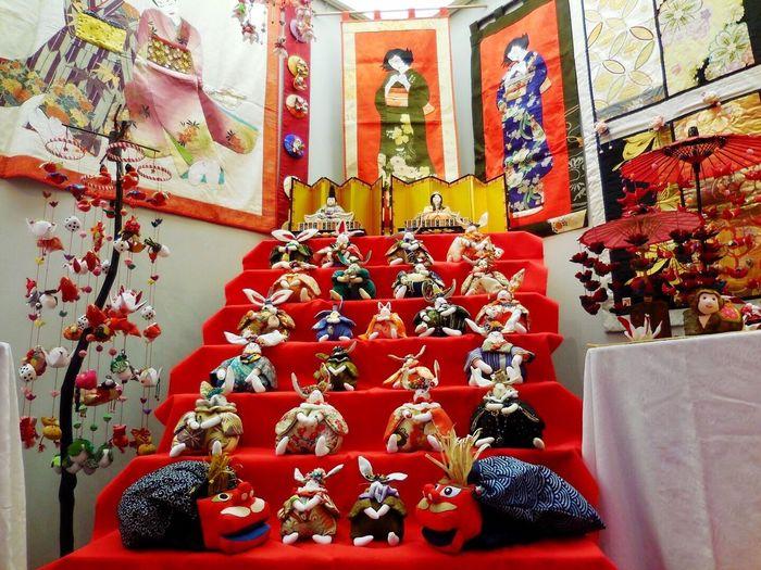 Dolls Exhibition Chick Ornament EyeEm Best Shots Dolls Japan つるし雛展 桃の節句 雛人形 雛飾り ちりめん 🙆🎎✨
