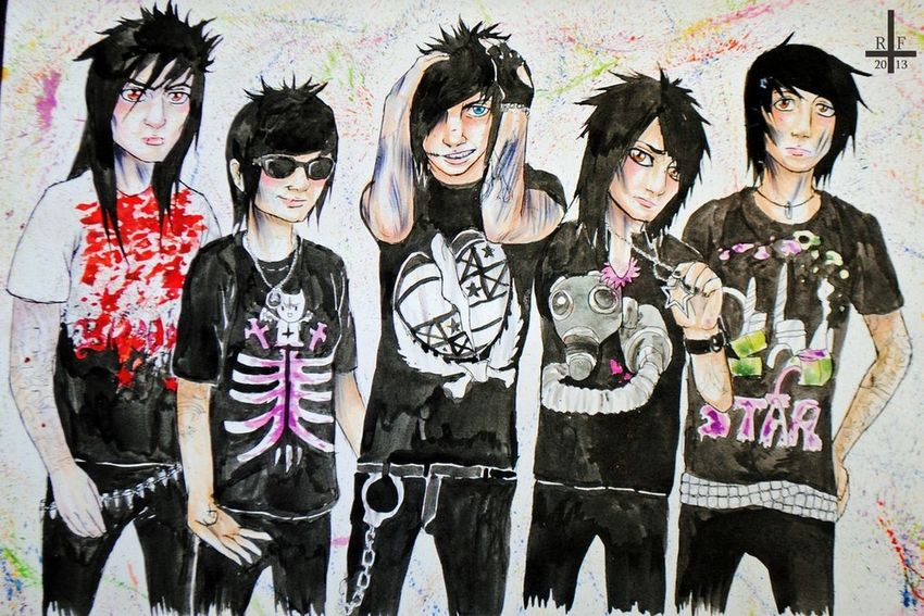 My fav band !!!! Sleepingwithsirens Live Music Musiclife Addicted