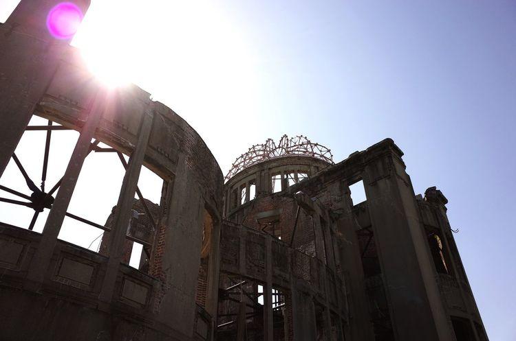 Hiroshima Peace Memorial Park Hiroshima Atomic Bomb Dome Photo Photography Snapshot Richo 28mm Gr Japan