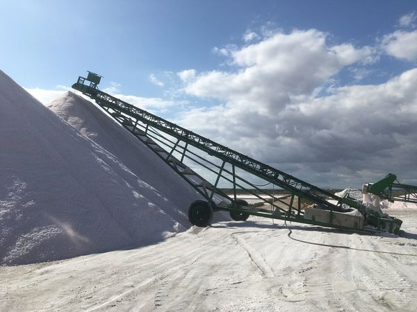 Machinery Industry Day Quarry Heap Sky No People Outdoors Nature Salt Salt Peak Colonia De Sant Jordi Mallorca Salinas White Cristal