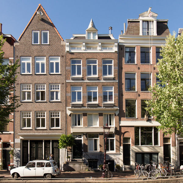 Amsterdam Netherlands Renault 4 Apartment Architecture Building Building Exterior Built Structure Canal Houses Car City Day Holland Incidental People Land Vehicle Mode Of Transportation Motor Vehicle Nature Outdoors Plant Residential District Row House Street Tourist Destination Transportation Tree Window