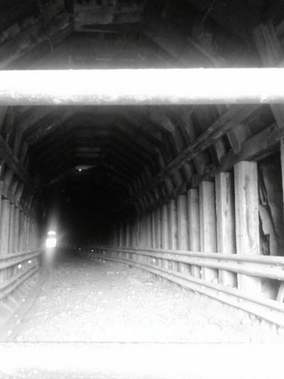 Tunnel Built Structure No People Day Black And White Friday Outdoors