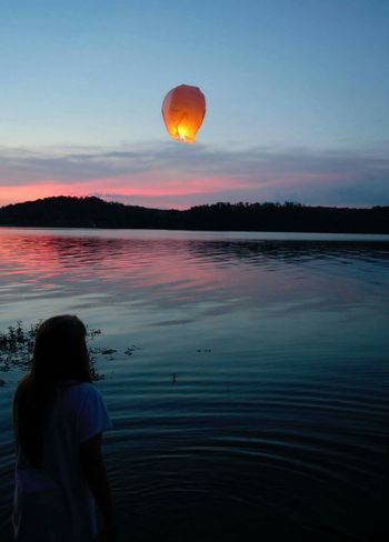 Capturing Freedom Memorial Awesomeness Summer Memories... Floating Lantern