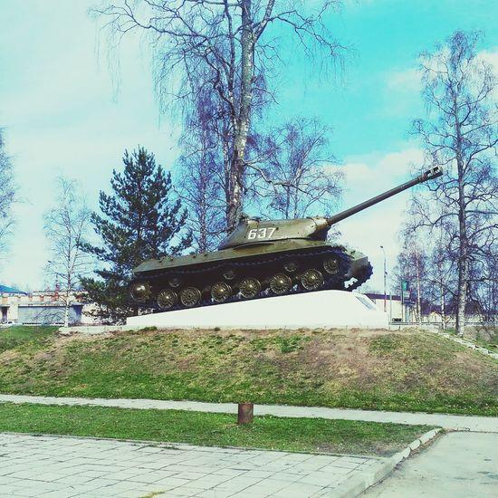 T-34 USSR Cool 2 ТанкТ34 First Eyeem Photo памятник Приозерск